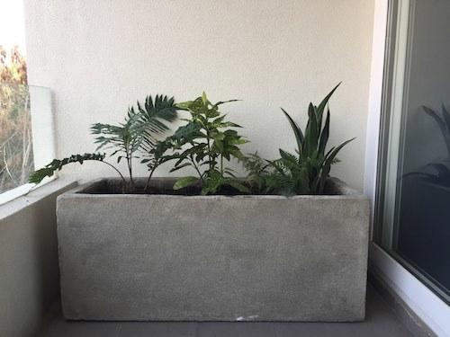 C mo decorar con maceteros grandes terrazachic for Jardineras para balcones