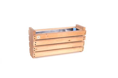 Macetero autoregante de madera Kiche