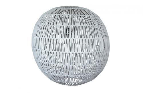 Lámpara Bulat blanca de Ecolene