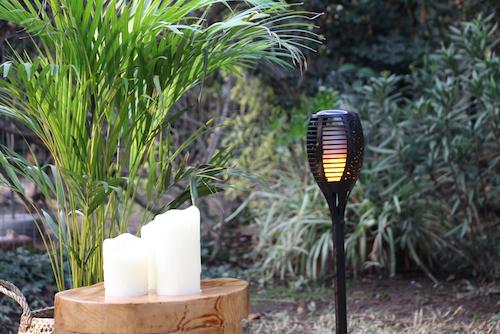 Farol para jardín con luz solar