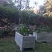 Jardinera de pallet de 26 x 30 x 60 cm