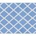 Alfombra PET diamante celeste 120 x 180 cm