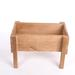 Macetero de madera para huerta urbana