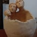 Macetero de cerámica de gres de tres personas - macetero de gres de tres personas.jpg