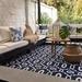 Terraza lista con alfombra de 180 x 270 cm