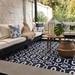 Terraza lista con alfombra de 180 x 270 cm - terraza lista sofa en L alfombra de exterior grande color azul.jpg