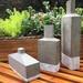 Esculturas de hormigón - esculturas de hormigon con forma de botellas.jpeg