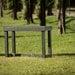 Mesa tipo arrimo en Ecotabla - Mesa Maris jardin eco tabla plástico reciclado.jpg