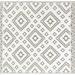 Alfombra PET modelo Venice gris con blanco de 180 x 270 cm. - Alfombra reversible de exterior Venice por el lado blanco.jpg