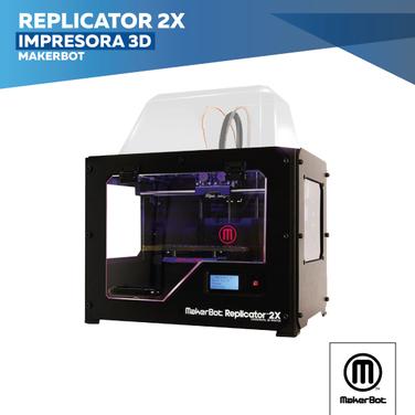 Impresora 3d Makerbot Replicator 2X