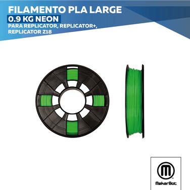 Filamento PLA Large Neón