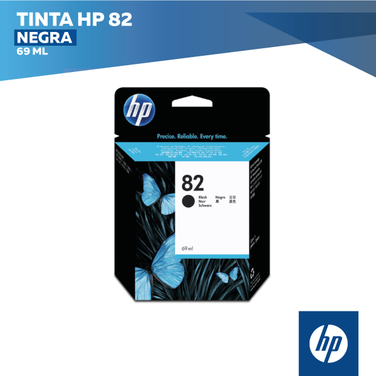 Tinta HP 82 Negra (COD: CH565A)