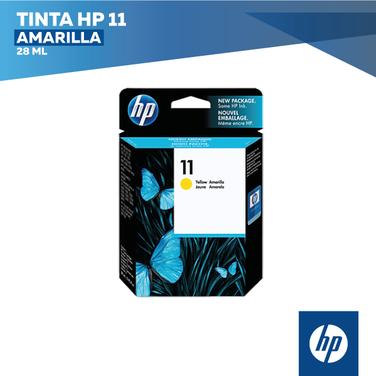 Tinta HP 11 Amarilla (COD: C4838A)