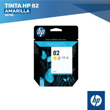 Tinta HP 82 Amarilla (COD: C4913A)