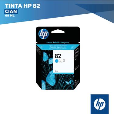 Tinta HP 82 Cian (COD: C4911A)