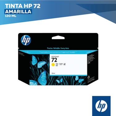 Tinta HP 72 Amarilla (COD: C9373A)