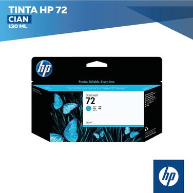 Tinta HP 72 Cian (COD: C9371A)