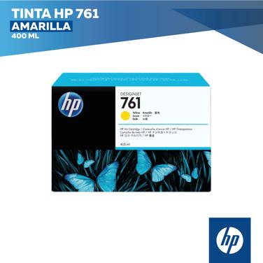 Tinta HP 761 Amarilla (COD: CM992A)