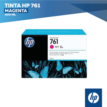 Tinta HP 761 Magenta (COD: CM993A)