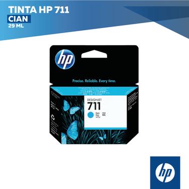 Tinta HP 711 Cian (COD: CZ130A)