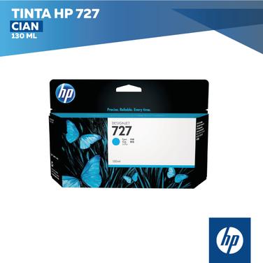 Tinta HP 727 Cian (COD: B3P21A)