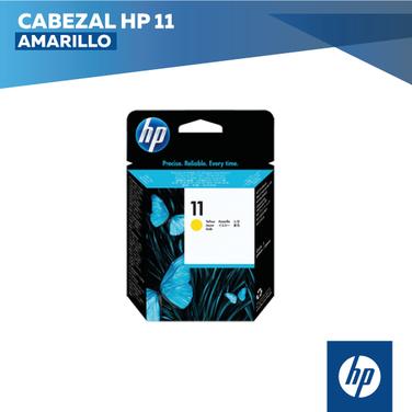 Cabezal HP 11 Amarillo (COD: C4813A)