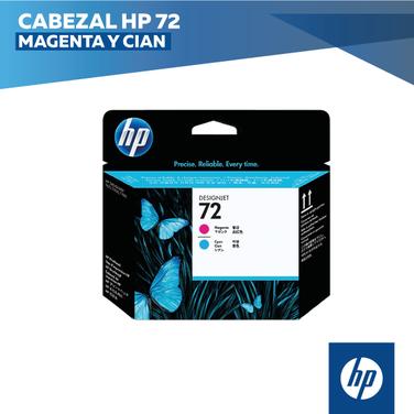Cabezal HP 72 Magenta y Cian (COD: C9383A)