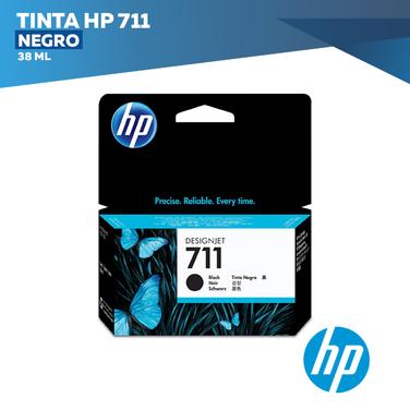 Tinta HP 711 Negro (COD: CZ129A)