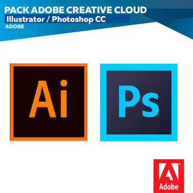 Pack Adobe Creative Cloud illustrator/photoshop