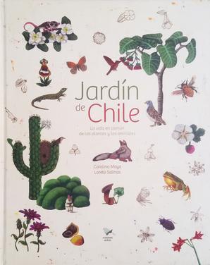 Libro Jardin de Chile