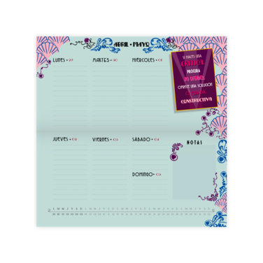 Agenda Pascualina Chic Glamour 2019 - 60% off - $3.990