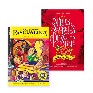 Novela Pascualina + Comic La Bruja en Paris $14.990