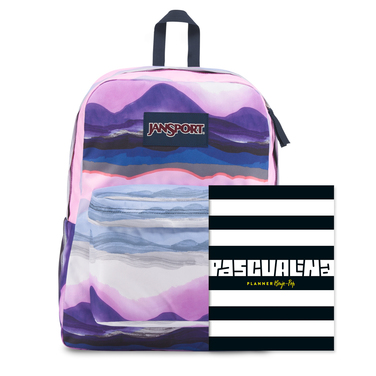 Planner Pascualina + Mochila Jansport Sunset  - $19.990 (sólo despacho a domicilio)