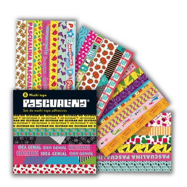 Washi Tapes Pascualina Ejecutiva - 8 hojas $4.990