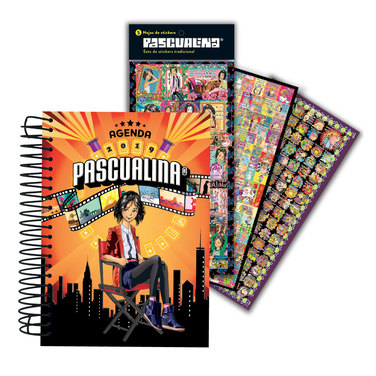 Pascualina Hollywood 2019 + Stickers Tradicional $9.990