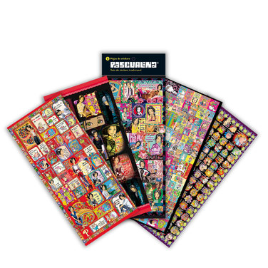 Pack Stickers Pascualina Originals + Tradicional + Ejecutiva - 15 hojas $9.990