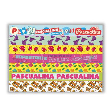 Planner Pascualina Brujo Pop + Washi Tapes 8 hojas - $16.990