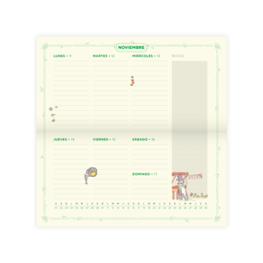 Agenda Ejecutiva Originals 2019 + Stickers Originals - $9.990