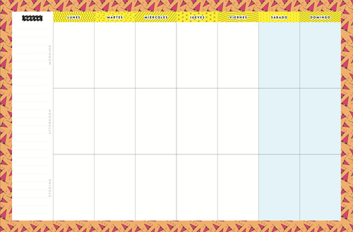 Planner Pascualina + Agenda Hollywood - $15.990