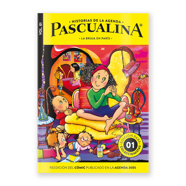 Cuento y Actividades + Comic La Bruja en Paris - $9.990