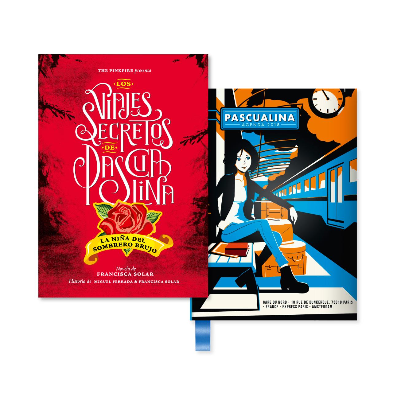 Novela Pascualina + Agenda Train - prepárate para la segunda novela - $12.990