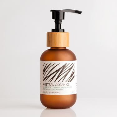 La perfecta combinación de aceites perfumada con lavanda