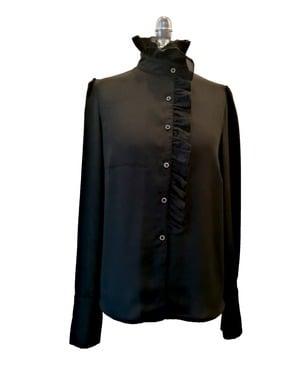 Blusa Cruzada Vuelos | Black |