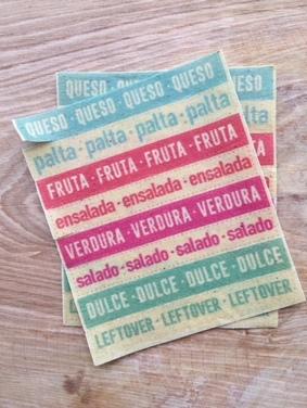 Set de etiquetas : : Colores