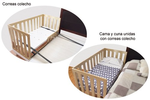 Set Correas Colecho (para cuna GrowMe)