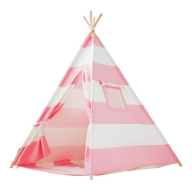 Carpa Tipi Pink Stripes