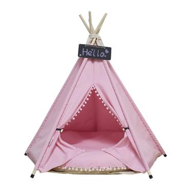 Pet Teepee Pink (carpita para mascota pequeña)