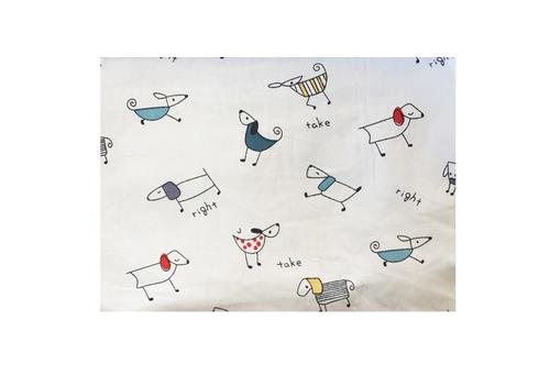 FUNDA DE PLUMÓN Perritos animados 2° Posición (120x180)