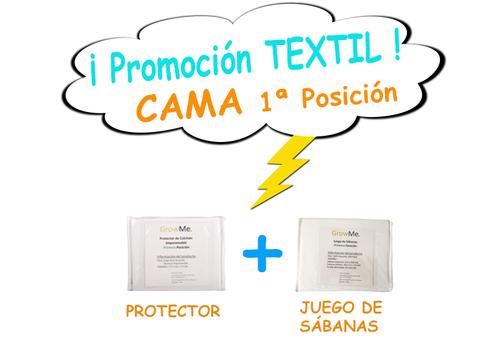Promo 4 - Textil CAMA POSICIÓN 1 (protector + sábanas)
