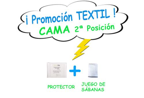 Promo 7 - Textil CAMA POSICIÓN 2 (protector + sábanas)